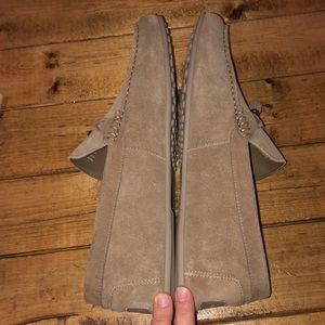 Aldo Shoes - ALDO Freinia Suede Slip on loafer Tan With box
